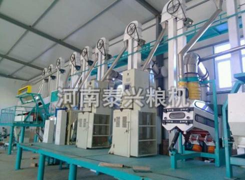 100吨级小米加工设备