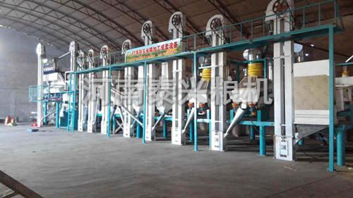 50吨级小米加工机械