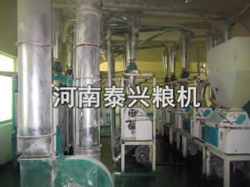 西藏40吨青稞面加工设备