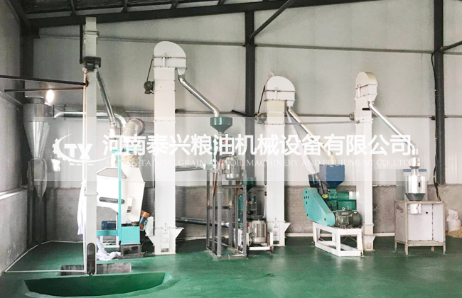 洛阳伊川小米加工设备正式投入生产
